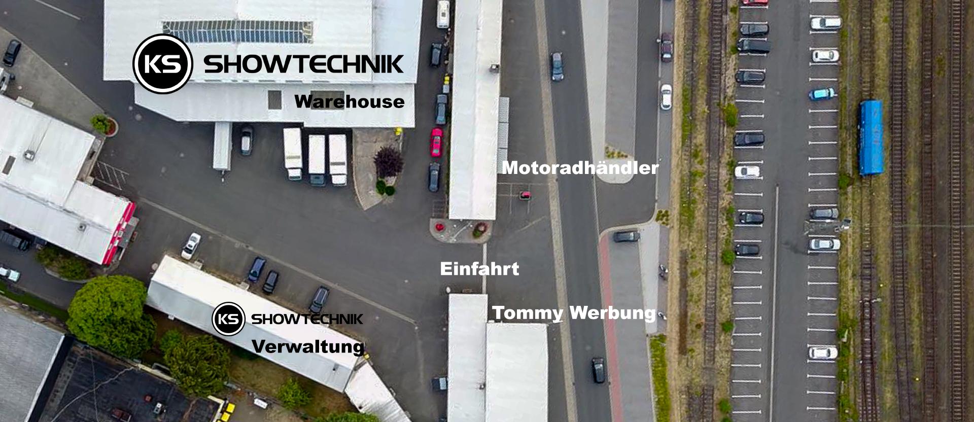 Anfahrsbeschreibung KS-Showtechnik
